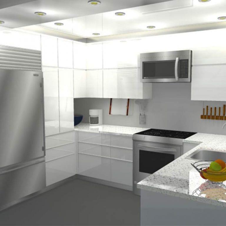 Visuel 3D sur mesure - Unidé Design- Design d'intérieurs