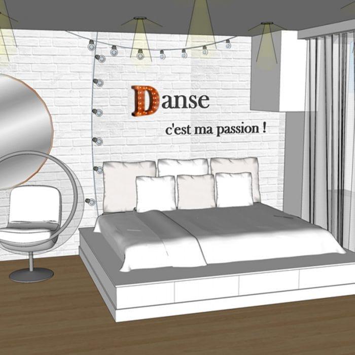 Modélisation 3D de chambre